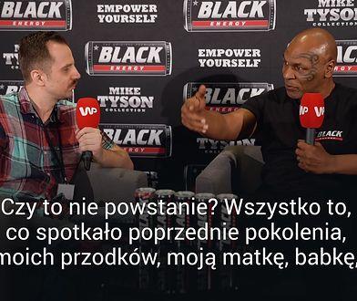 """Mike Tyson wybuchł po pytaniu o powstanie warszawskie. """"Czy wiem coś o powstaniu? Jestem niewolnikiem"""""""