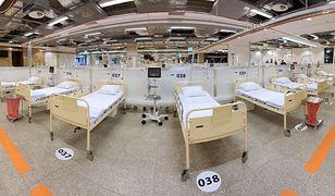 Koronawirus w Warszawie. Pacjenci naStadionie Narodowym w dobrym stanie