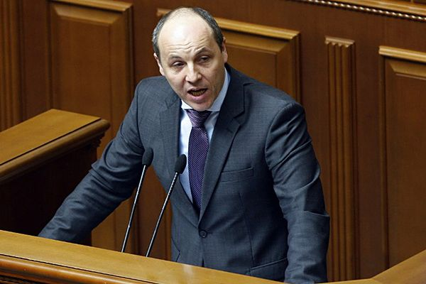 Sekretarz obrony Ukrainy Andrij Parubij