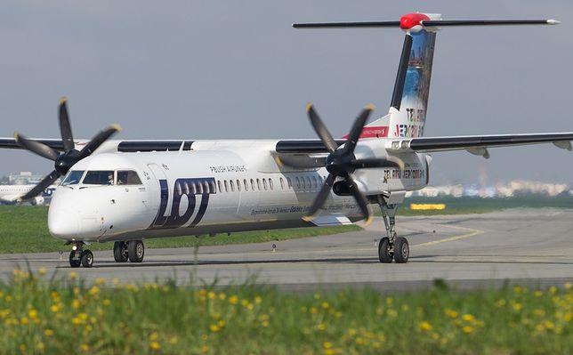 Bombardier zawrócił w drodze do Krakowa