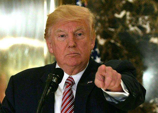 Donald Trump jest niezadowolony z postawy Niemiec