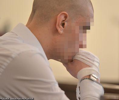 Tobiasz Ł. był wspólnikiem Stefana W. w napadzie na bank