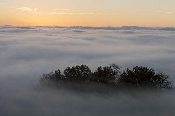 Mgły i słabe opady deszczu - prognoza pogody na 14 i 15 listopada