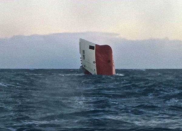Zatonął statek. Członkowie załogi cementowca uznani za zaginionych.