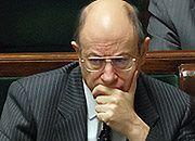 Minister finansów Jacek Rostowski