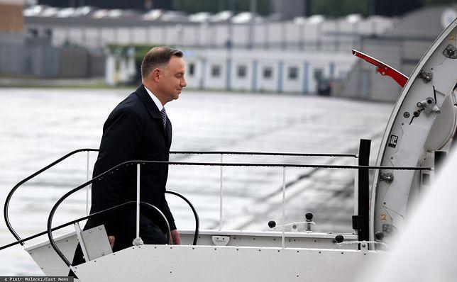 Prezydent Andrzej Duda często latał do ośrodka prezydenckiego w Juracie