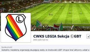 """Ktoś dla żartu stworzył profil """"CWKS Legia - Sekcja LGBT"""""""