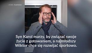 Synowie Artura Żmijewskiego nie poszli w jego ślady
