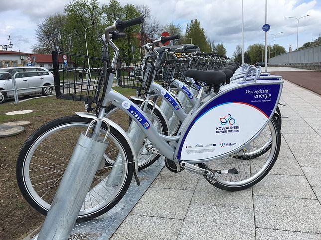 Rowery są dostępne od środy, 6 maja