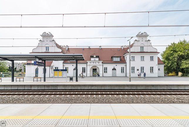 Dworzec kolejowy w Kole