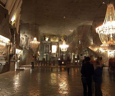 Kopalnia Soli w Wieliczce to jedna z najsłynniejszych atrakcji w Polsce