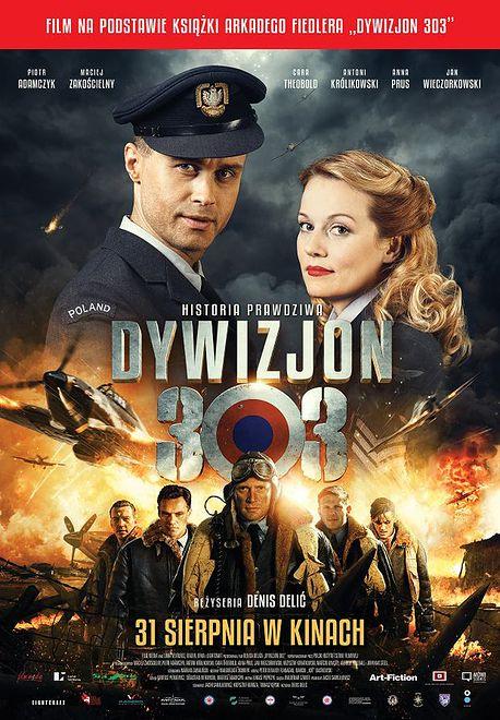To już drugi film o Dywizjonie 303, który ukazał się tego lata.