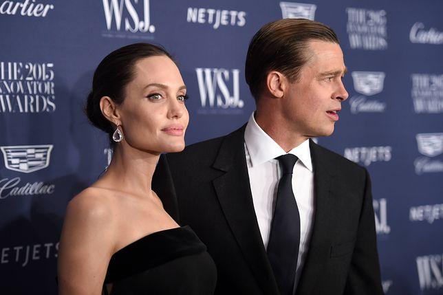 Angelina chce zwiększenia prawa do opieki nad ich dziećmi