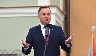 Posiedzenie Sejmu 12 listopada. Ruch Andrzej Dudy