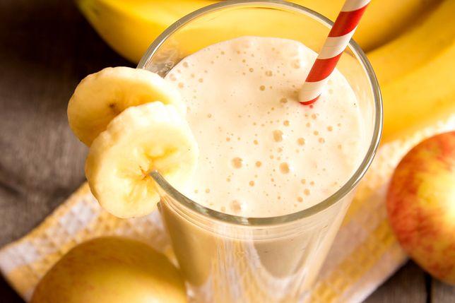 Koktajl bananowy to przykład koktajlu białkowego