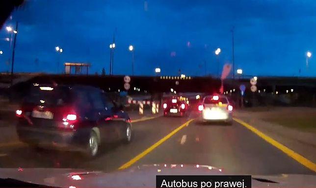 Policja namierzyła kierowcę białego BMW! [WIDEO]