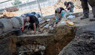 Więzienie na Rakowieckiej. Odkryto masowy grób