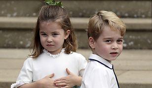 Książę George i księżna Charlotte nie mogą korzystać z telefonów i tabletów
