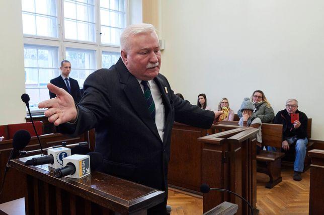 Lech Wałęsa staje w obronie wnuka