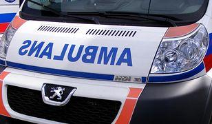 Śmiertelny wypadek w Konarzycach - przewrócił się podnośnik koszowy