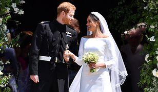 Ślub księcia Harry'ego i Meghan Markle, 19 maja 2018.