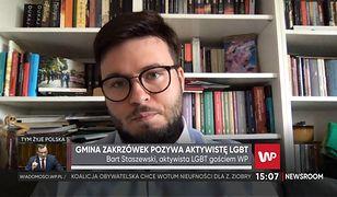 """Bart Staszewski został pozwany przez """"strefę wolną od LGBT"""". Mówi, jakie ma szanse w sądzie"""
