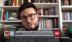 """Bart Staszewski mówi, kto ponosi winę za zrywanie przez miasta współpracy ze """"strefami wolnymi od LGBT"""""""