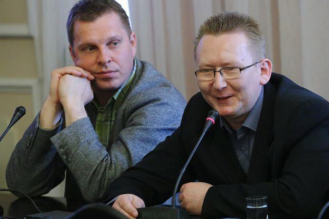 Dr Dymitr Książek i Piotr Walentynowicz w 2013 r.