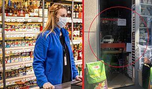Sklepy wprowadzają coraz więcej zabezpieczeń przed koronawirusem dla kasjerów i klientów.