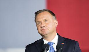 Andrzej Duda wdał się w dyskusję z Krzysztofem Bosakiem