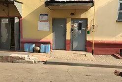 Rewizja w siedzibie Biełsatu. Milicja przepiłowała drzwi wejściowe