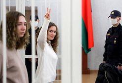 """Białoruś. Prowadziły relację z protestu, zostały skazane za """"organizację zamieszek"""""""