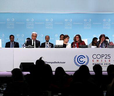 Madryt. Obrady szczytu COP25 skończyły się bez porozumienia