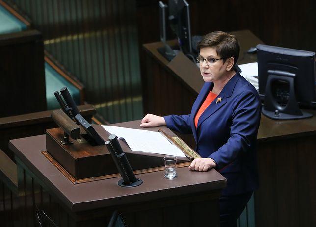 Beata Szydło: UE oparta na szantażu dobiega końca