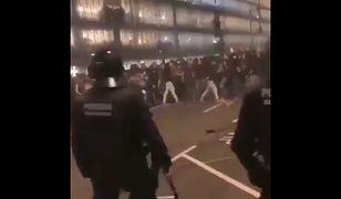 Hiszpania. Zamieszki w Barcelonie. Kilkadziesiąt rannych osób [WIDEO]