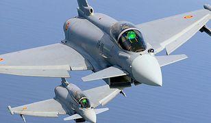 Baltic Air Policing. Alarmowy start myśliwców przerwał konferencję prezydenta Litwy i premiera Hiszpanii