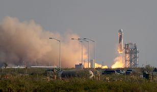 Wiemy, dlaczego rakieta, którą leciał Jeff Bezos może przypominać męski organ