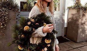 Kasia Tusk już czuje Święta. Stworzyła przepiękny wieniec adwentowy!