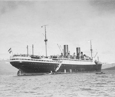 """Statek pasażerski """"SS General von Steuben"""""""