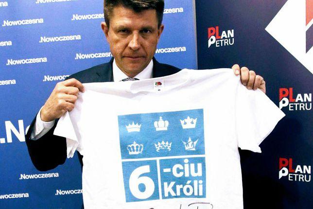 """""""Sześciu króli"""" powraca. Ryszard Petru zamienił swoją słynną wpadkę na 2,5 tys. dla WOŚP"""