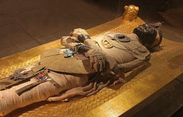 Mumia egipska, zdjęcie ilustracyjne