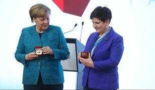 Merkel zainspiruje się stylem Beaty Szydło? Broszkę już dostała