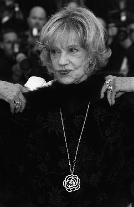 Jeanne Moreau, Cannes, 2008