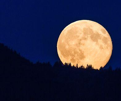 Kwiatowa Pełnia Księżyca. Niezwykłe zjawisko na niebie