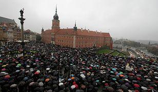 """""""Czarny protest"""" 3 października 2016 r."""