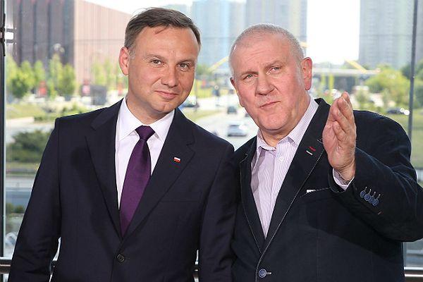 Andrzej Duda i przewodniczący OPZZ Jan Guz
