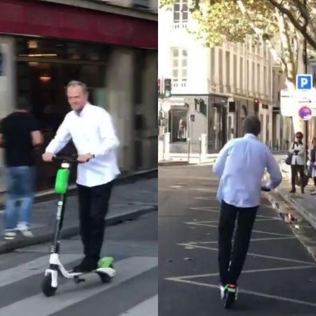 Donald Tusk w Paryżu