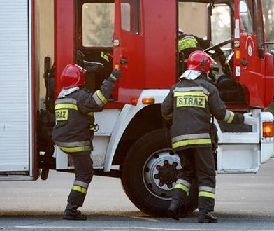 Pożar w Złotoryi wybuchł we wtorek rano