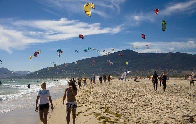 Kitesurfing - Tarifa, Hiszpania