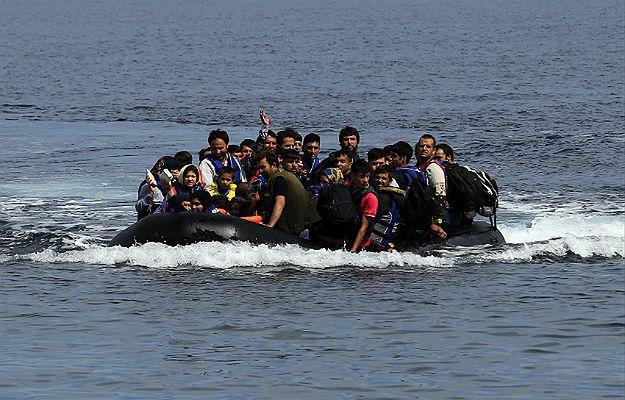 Łódź wypełniona uchodźcami i imigrantami